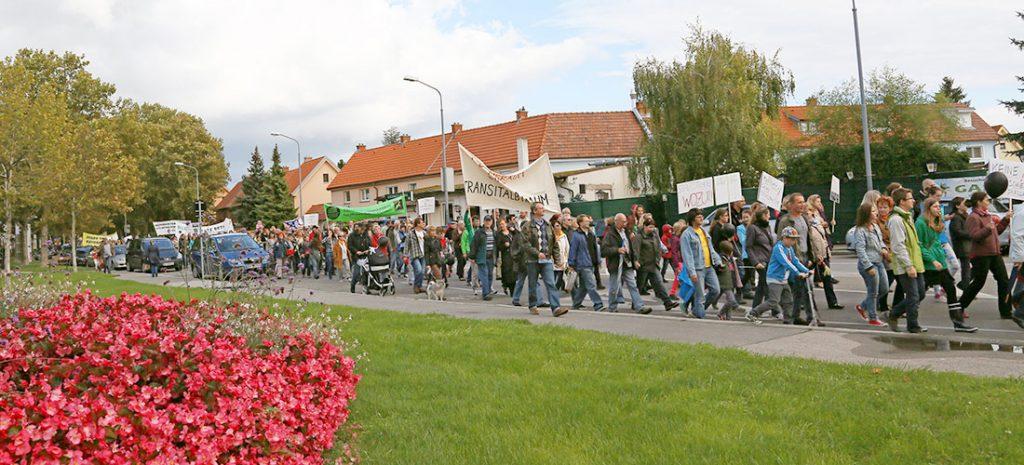 Demo im Herbst 2013