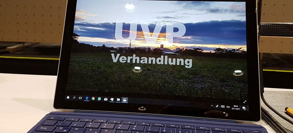 UVP-Verhandlung